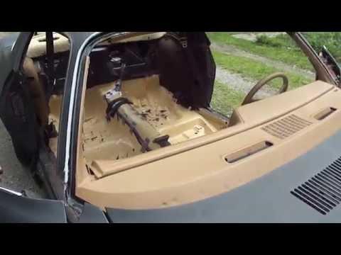 1979 Camaro Z28: Update 5 Headliner In/Dash Painted