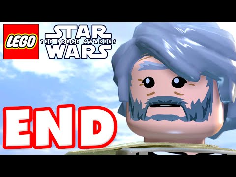 LEGO Star Wars The Force Awakens - Gameplay Part 10 - Chapter 10: Finale and Epilogue! ENDING!