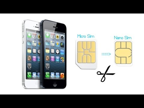 how to cut your sim card micro sim nano sim iphone 5 funnycat tv. Black Bedroom Furniture Sets. Home Design Ideas