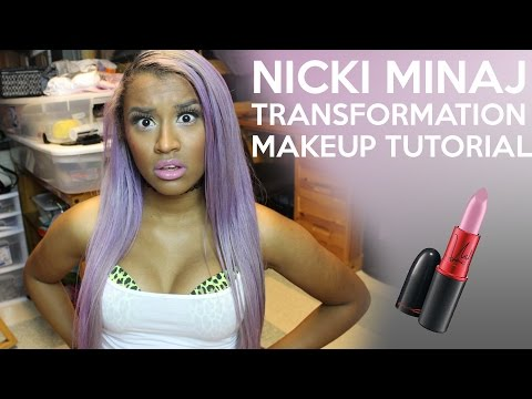 Nicki Minaj Transformation Makeup Tutorial | OffbeatLook