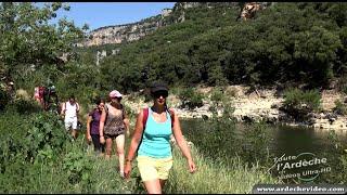 La Randonnée des Gorges de l'Ardèche (de Gaud à Gourmier) (4K)