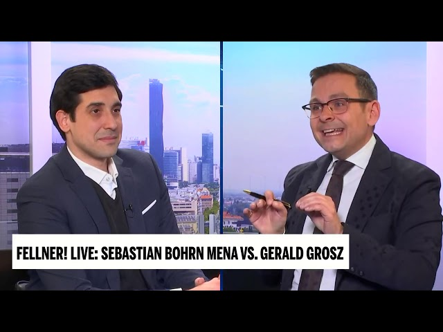 Österreich, das neue Schlusslicht Europas - Gerald Grosz in Fellner Live im Duell mit Bohrn Mena