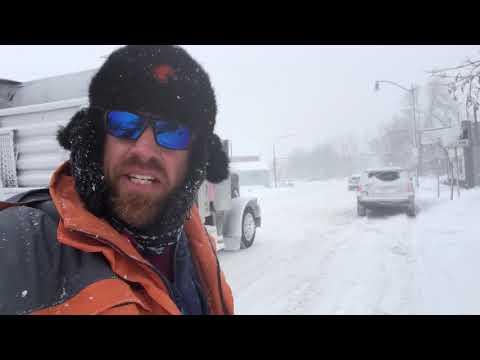 Lake effect insanity in Buffalo, NY!