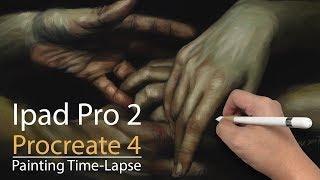 iPad Pro Procreate 4 Painting 8_Nov_2017