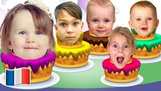 Histoire de joyeux anniversaire pour enfants et Comptines pour bébé de Five Kids