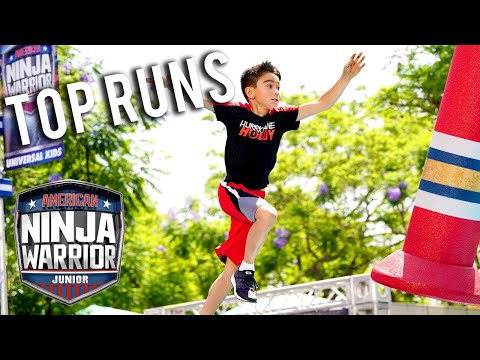 American Ninja Warrior Junior: Season 1 BEST RUNS Compilation 5 | Universal Kids