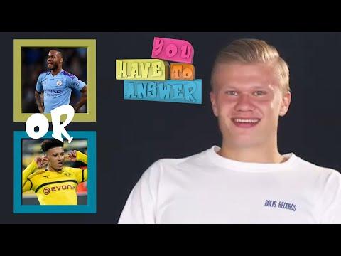 Erling Haaland, Alphonso Davies and Gio Reyna play 'You Have To Answer' | Bundesliga