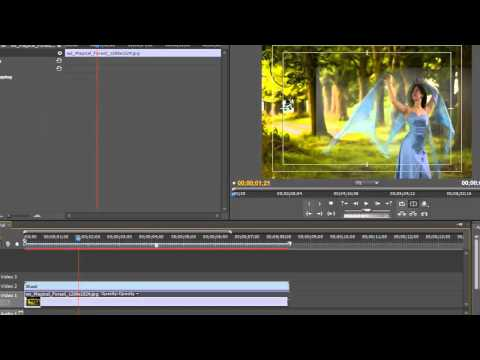 How to Chroma Key in Adobe Premiere Pro CS5 Tutorial