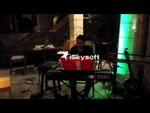 Raf sing live at Columbia Resort Hotel in Bacchus Italian Gourmet Restaurant