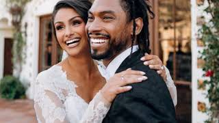 MIGUEL: Singer Miguel Marries Longtime Girlfriend NAZANIN MANDI [WEDDING PHOTOS]