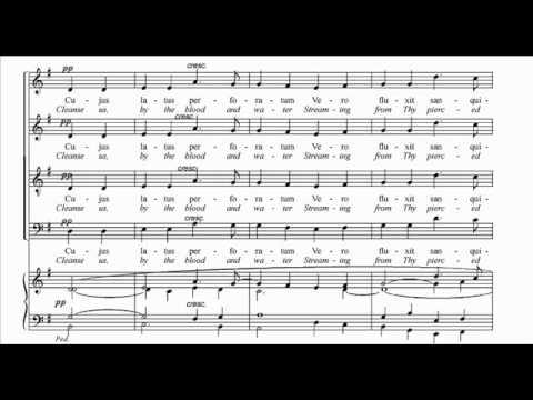 [choral music score] Ave Verum Corpus - Edward Elgar