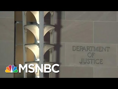 Watch DOJ's Robert Mueller Report News Break On Live TV   The Beat With Ari Melber   MSNBC