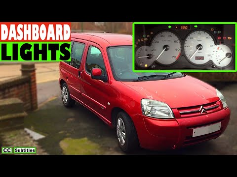 Citroen Berlingo Dashboard Warning Lights Overview