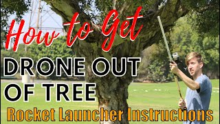 How to Get Drone Out of Tree