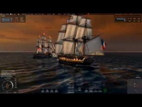 Naval Action: Battle tactics (HMS Trincomalee)