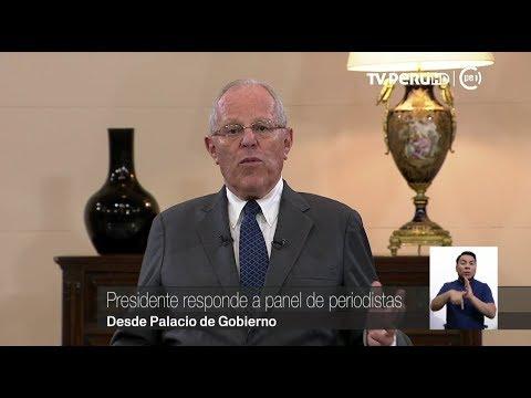 Presidente Pedro Pablo Kuczynski responde a periodistas (Parte 2)