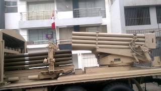 MRLS 122mm Tipo 90B - Parada Militar 2015
