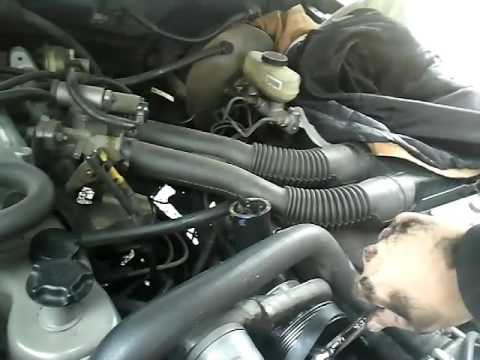 92 f150 49 serpentine belt install - YouTube