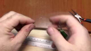 Самодельная струна для гибки пластика / Selfmade string for plastic bending(, 2016-01-06T12:16:37.000Z)