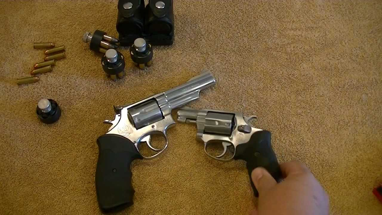Smith & Wesson Mod 60 and 66 Review - YouTube