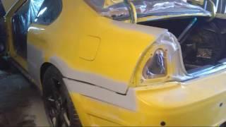 Авто покраска хонда тюнинг