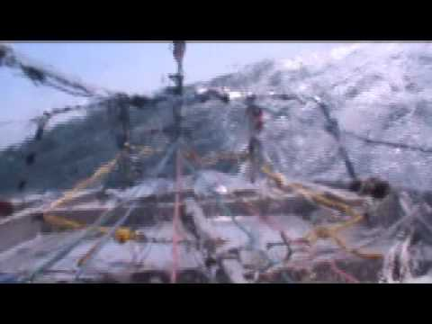 Gale & knockdown in the Labrador Sea