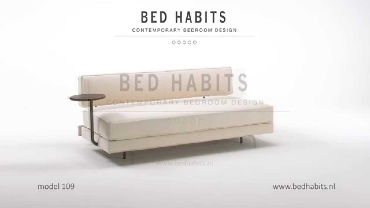 Design Luxe Slaapbank.Design Slaapbank Model 109 Bed Habits Amsterdam