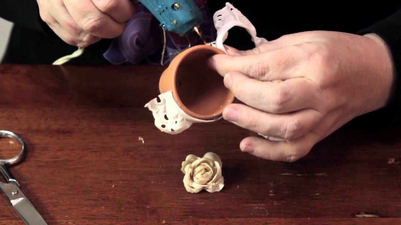 Decorating Clay Pots Decorative Crafts Accessories Youtube