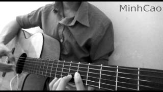 Kung Kung Kung (쿵쿵쿵) - Kim Min Seung (She was pretty OST)  ( Fingerstyle solo guitar)
