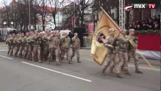 Военный парад в Латвии.2012