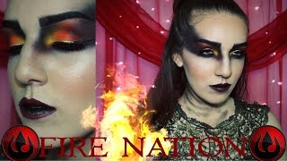 Fire Nation⎮Avatar The Last Airbender Makeup Tutorial