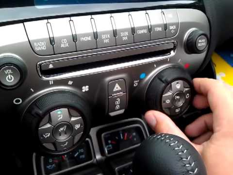 Chevy Camaro Climate Control Heated Seats YouTube