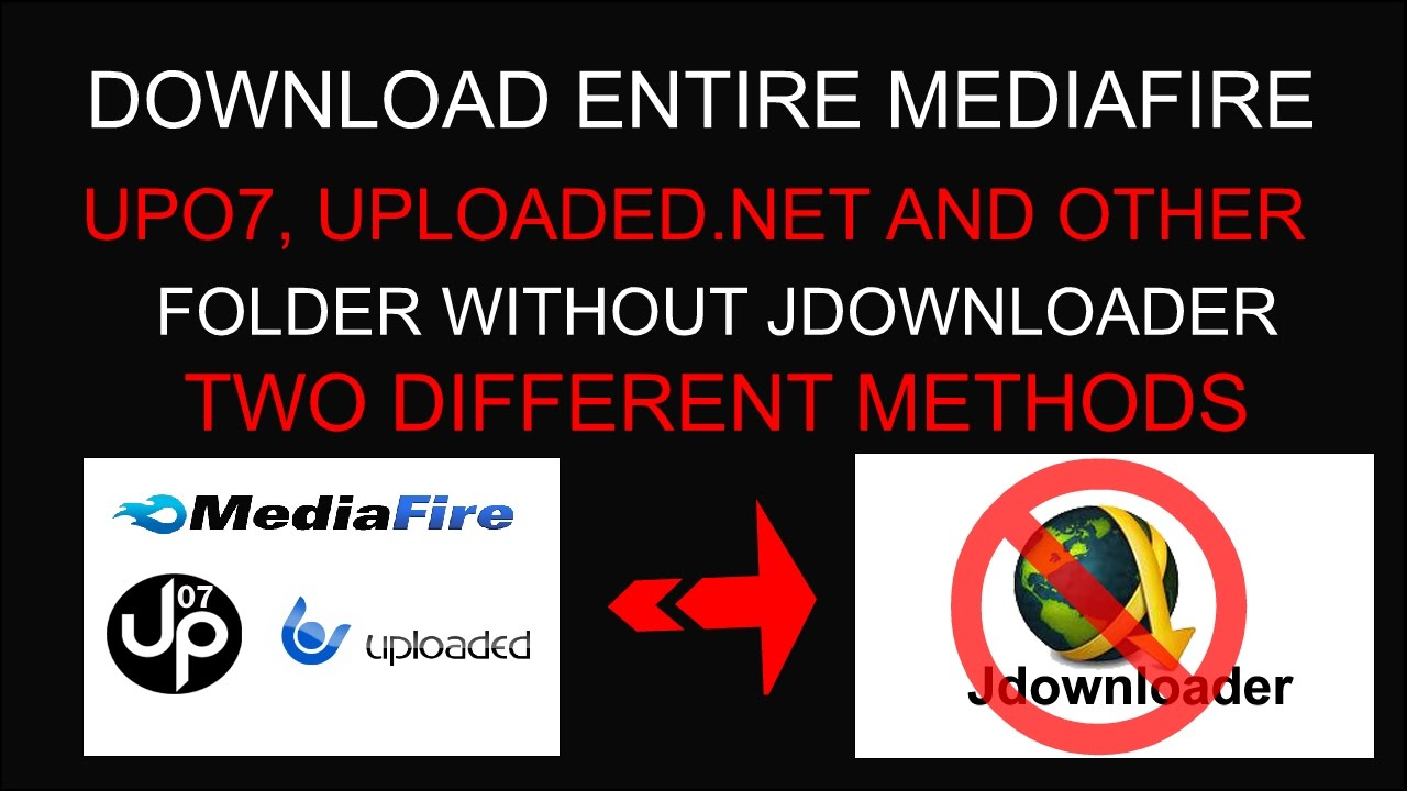 2 Methods - Without JDownloader Download Folders From Mediafire (No Premium)