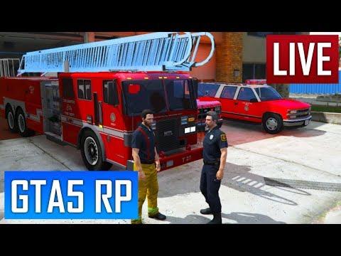 GTA 5 RP : Il y a le feu chez Martine [SADOJ]