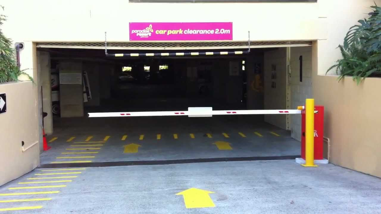 Video Of Boom Gate Opening At A Car Park Entry Youtube