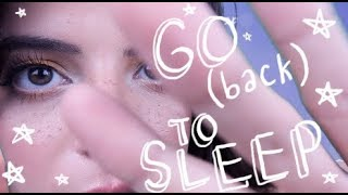 ASMR | Go (Back) To Sleep 🌙  [Repeated Word Trigger]