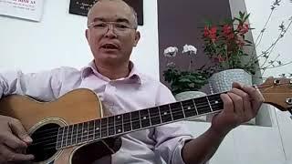 Hướng dẫn đệm guitar bài lạy Chúa con khao khát Ngài