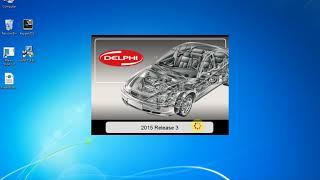 Installation delphi DS150E 2015.3