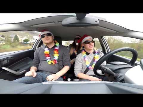 Trio Kazoo Carpool Karaoke (Jingle Bell Rock)