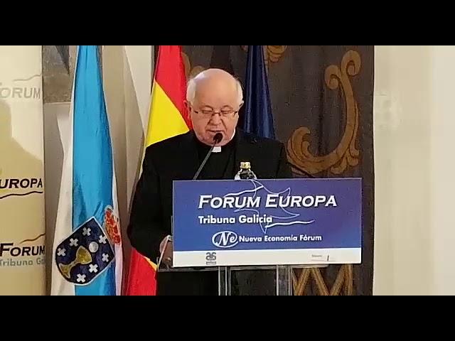 Julián Barrio confía en que el Papa venga a Galicia en 2021