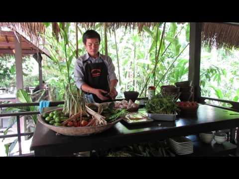 Tamarind Cooking School in Laos