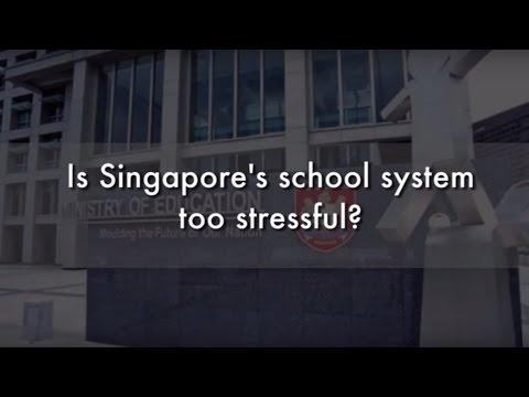 Stressful Singapore Schools | Street Talk | Happy-TV