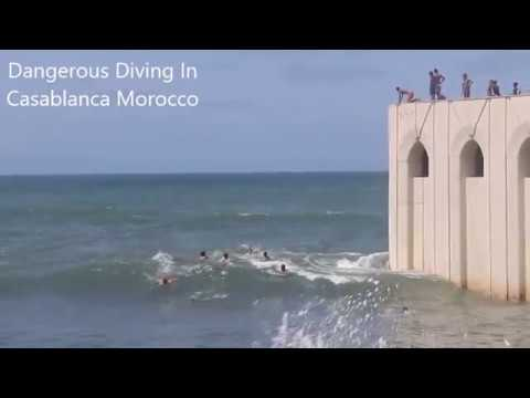 Dangerous Swimming In The Atlantic Casablanca...My Morocco Vacation