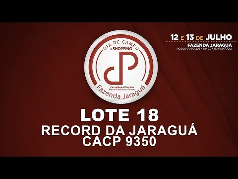 LOTE 18 (CACP 9350)