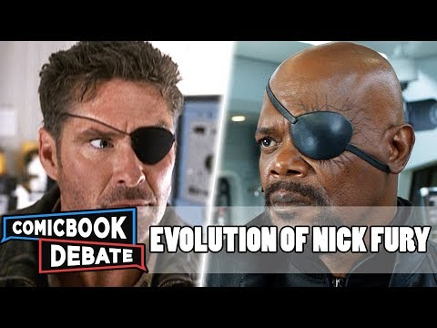 Evolution of Nick Fury in Movies & TV in 7 Minutes (2018)