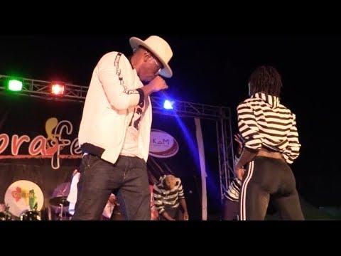 Prestation  de ANS-T CRAZY sur scene lors du  Festival Sobrafest