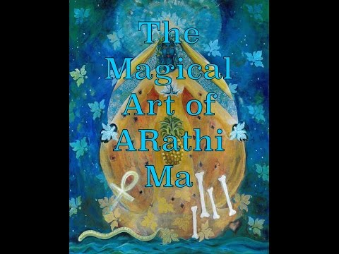 The Cosmic Shakti and the Magical Art of Arathi Ma.