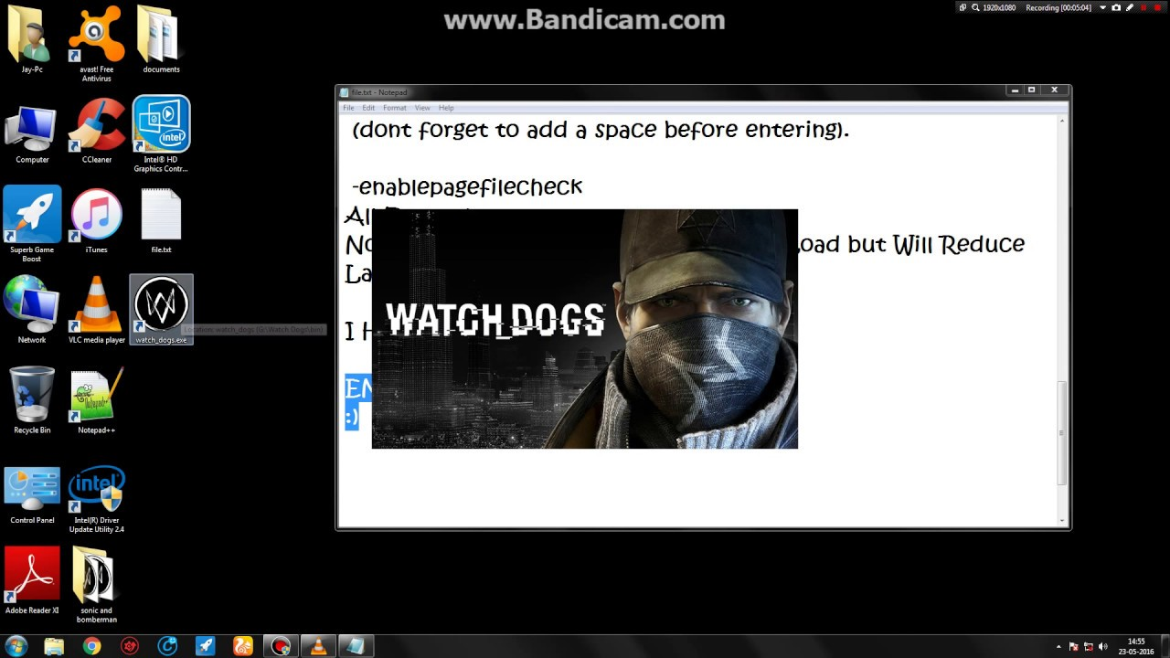 Watch dogs Lag fix for 4 gb ram low end pc