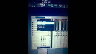 setting up bass station 2 with fl studio through scarlett 2i2 audio interface