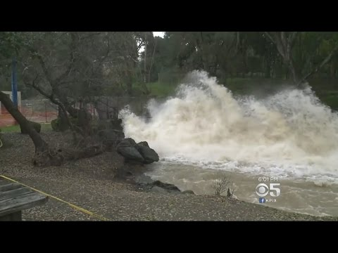 Anderson Reservoir At Capacity With Some Flooding Likely In Santa Clara County